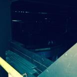 Inside the Subaru dome